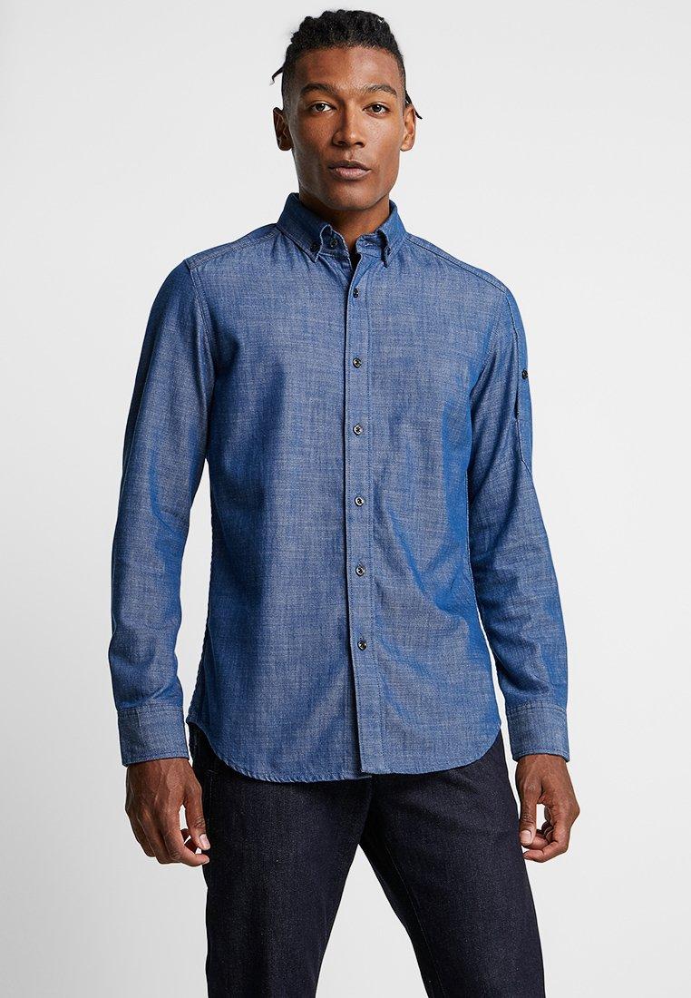 G-Star - STALT SLIM BUTTON DOWN POCKET - Shirt - rinsed