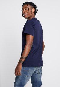 G-Star - GRAPHIC LOGO 8 T-SHIRT - T-shirt print - sartho blue - 2