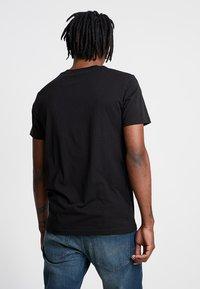 G-Star - GRAPHIC LOGO - Camiseta estampada - dark black - 2
