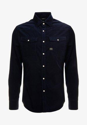 3301 SLIM SHIRT L/S - Camicia - sartho blue