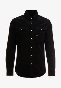 G-Star - 3301 SLIM SHIRT L/S - Skjorte - dark black - 3