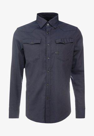 3301 SLIM SHIRT - Vapaa-ajan kauluspaita - mazarine blue
