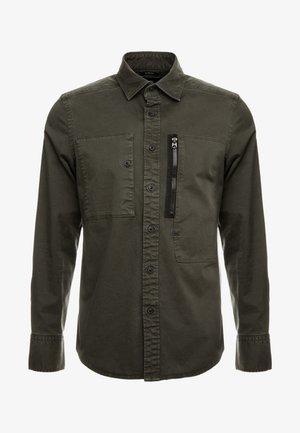 POWEL SLIM SHIRT L/S - Overhemd - asfalt