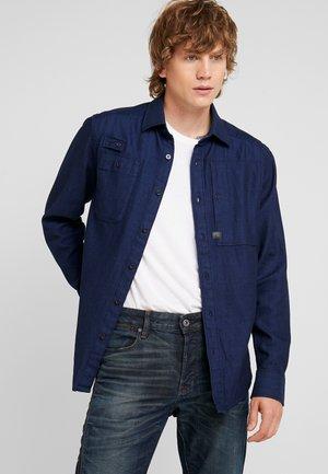 UTILITY HA STRAIGHT SHIRT L/S - Camisa - rinsed