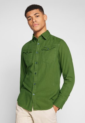 ARC SLIM SHIRT - Košile - sage