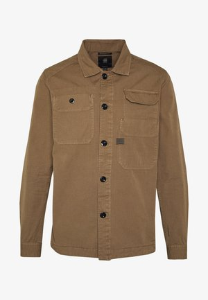 MULTIPOCKET STRAIGHT - Shirt - dark lever