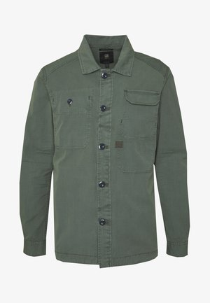 MULTIPOCKET STRAIGHT SHIRT  - Shirt - grey moss