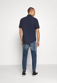 G-Star - ARC 3D SLIM SHIRT S\S - Shirt - sartho blue - 2