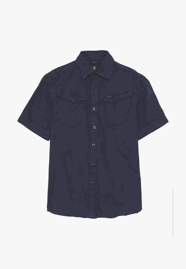 ARC 3D SLIM SHIRT S\S - Camisa - sartho blue