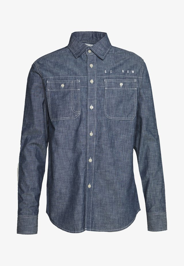 KINEC STRAIGHT SHIRT L\S - Overhemd - faded blue