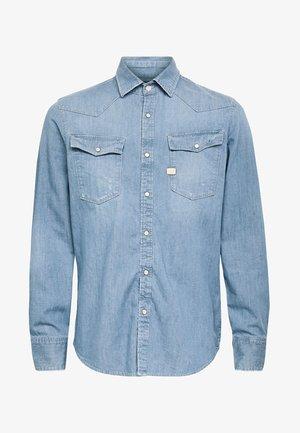 3301 SLIM - Shirt - blue