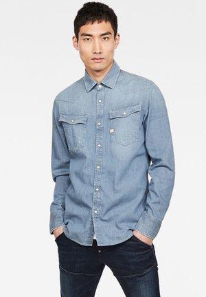 3301 SLIM - Camicia - blue