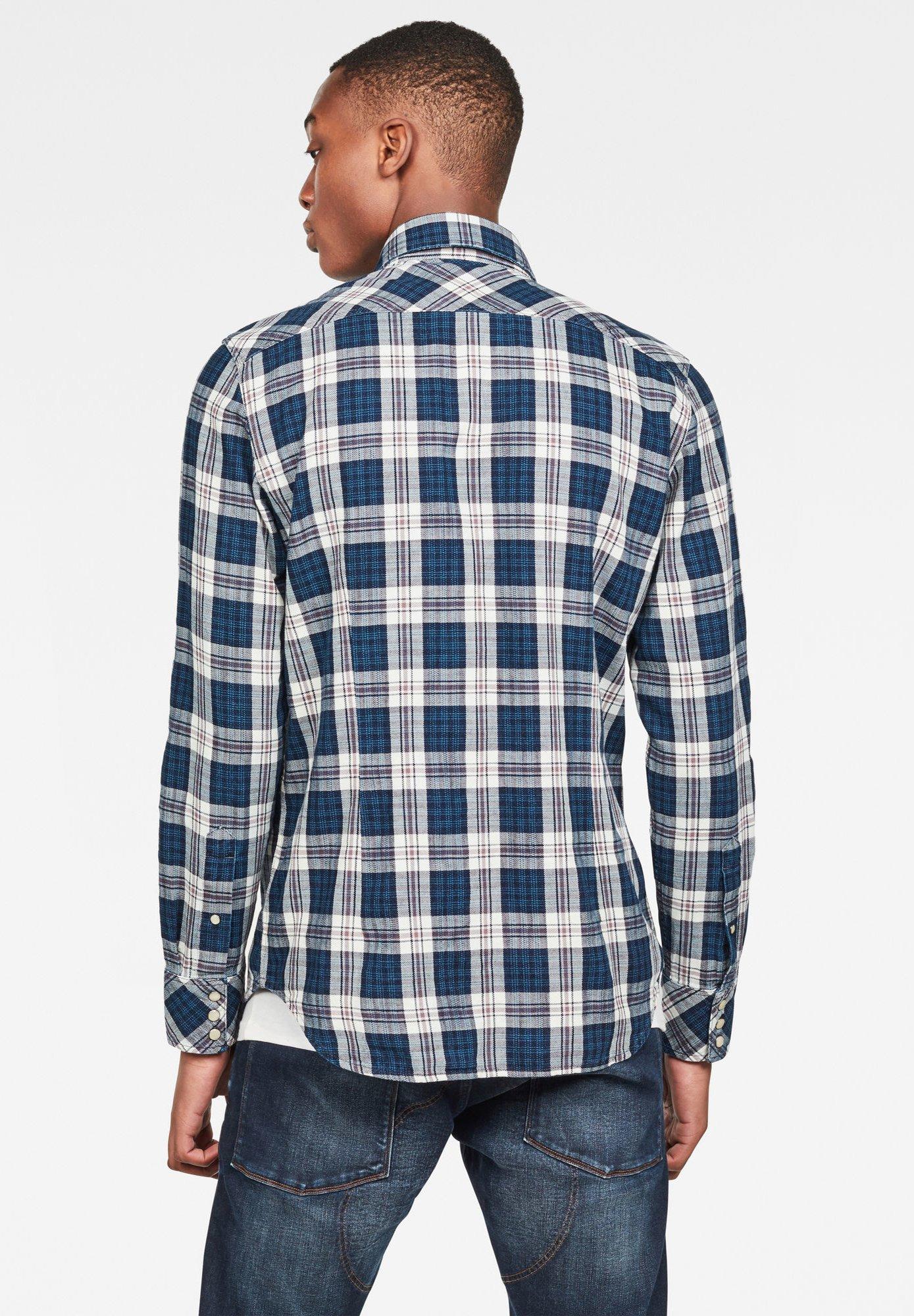 Chemise à carreaux G Star en ligne   À commander sur Zalando