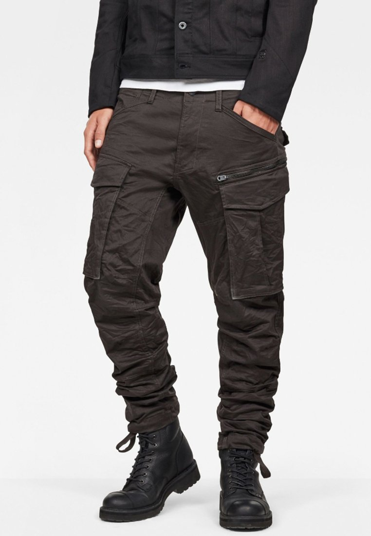 G-Star - ROVIC ZIP 3D STRAIGHT TAPERED - Cargobroek - raven