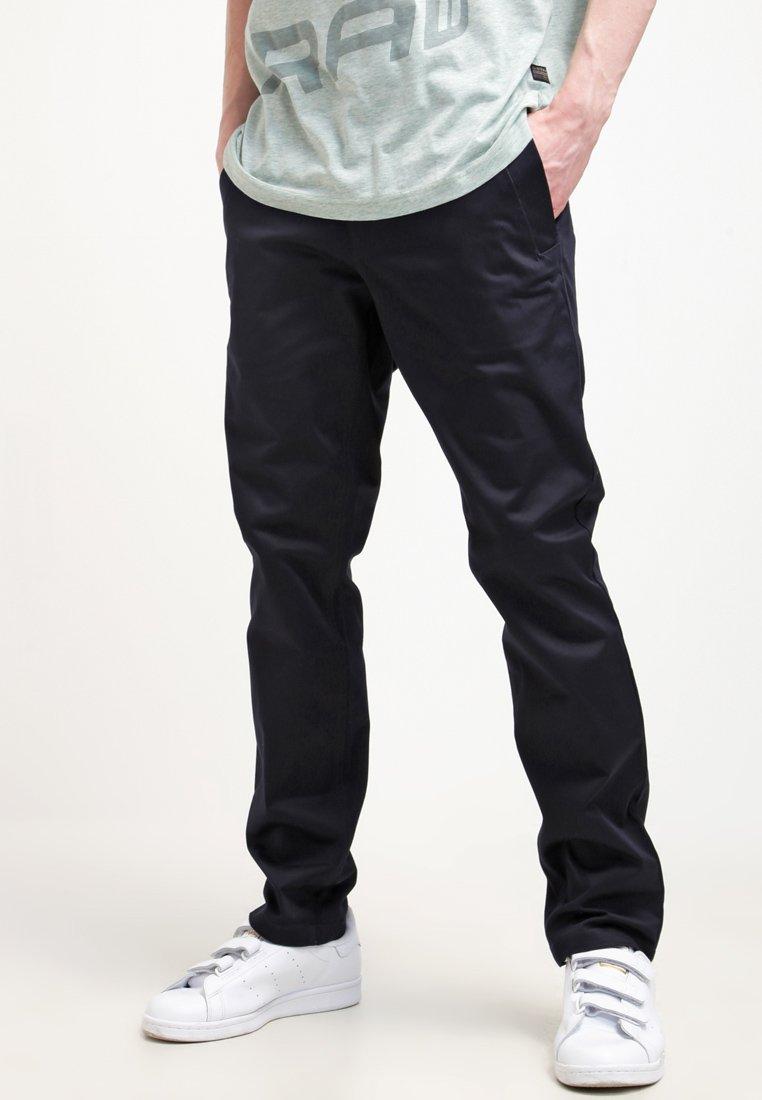 G-Star - BRONSON SLIM CHINO - Pantalones chinos - mazarine blue