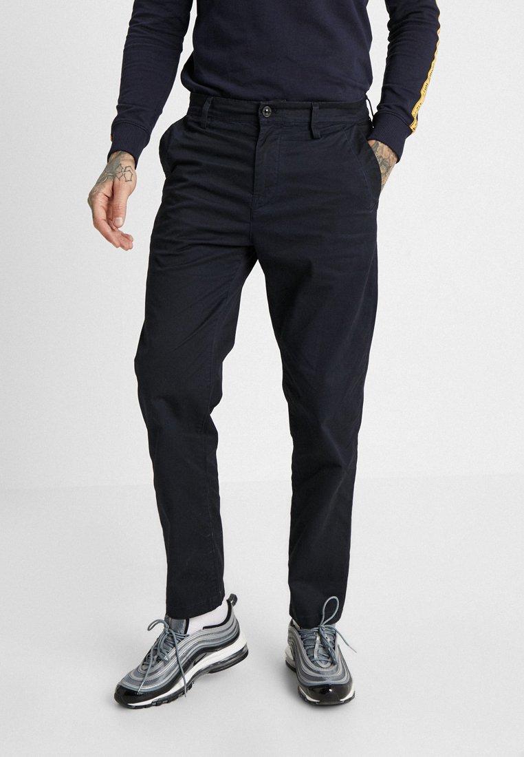 G-Star - BRONSON SERVICE STRAIGHT TAPERED - Pantalones chinos - sartho blue/mazarine blue