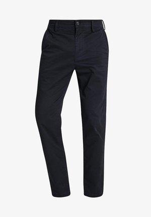 BRONSON SERVICE STRAIGHT TAPERED - Pantalones chinos - sartho blue/mazarine blue