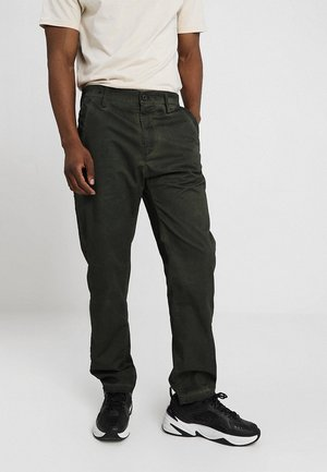 BRONSON SERVICE STRAIGHT TAPERED - Chinos - sage/asfalt