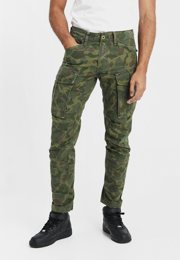 G-Star - ROVIC 3D STRAIGHT TAPERED - Cargohose - sage/battle green