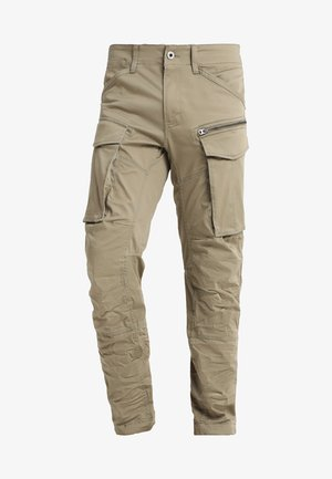 ROVIC ZIP 3D STRAIGHT TAPERED - Cargo trousers - dune