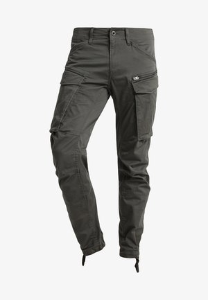 ROVIC ZIP 3D STRAIGHT TAPERED - Reisitaskuhousut - grey