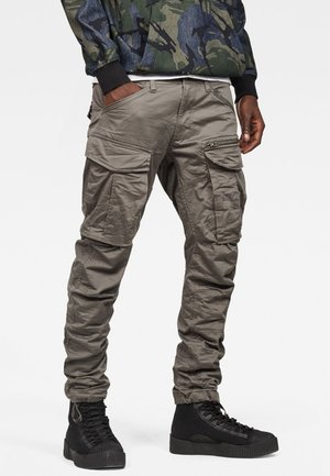 ROVIC ZIP 3D STRAIGHT TAPERED - Cargohose - gray