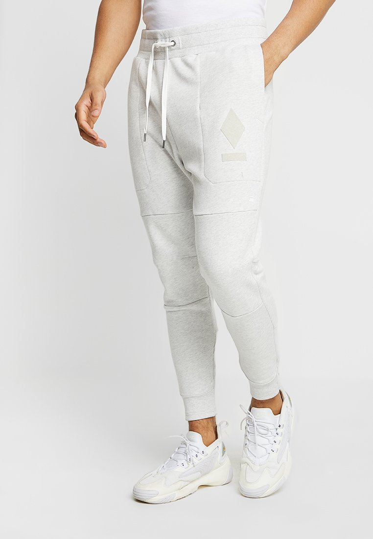 G-Star - ORE SLIM TAPERED SW PANT - Jogginghose - white heather