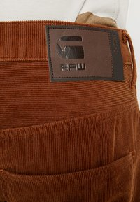 G-Star - ARC 3D SLIM FIT COLORED - Kalhoty - roast - 3