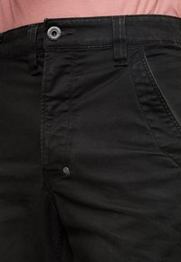 G-Star - 3D CARGO SLIM TAPERED - Cargo trousers - asfalt - 4