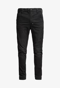 G-Star - 3D CARGO SLIM TAPERED - Cargo trousers - asfalt - 3