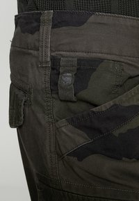 G-Star - ROXIC TAPERED CARGO - Cargobyxor - battle grey/asfalt - 3