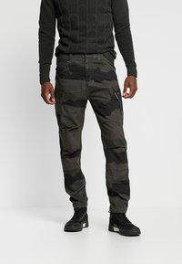 G-Star - ROXIC TAPERED CARGO - Cargobyxor - battle grey/asfalt - 0