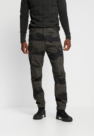 ROXIC TAPERED CARGO - Bojówki - battle grey/asfalt