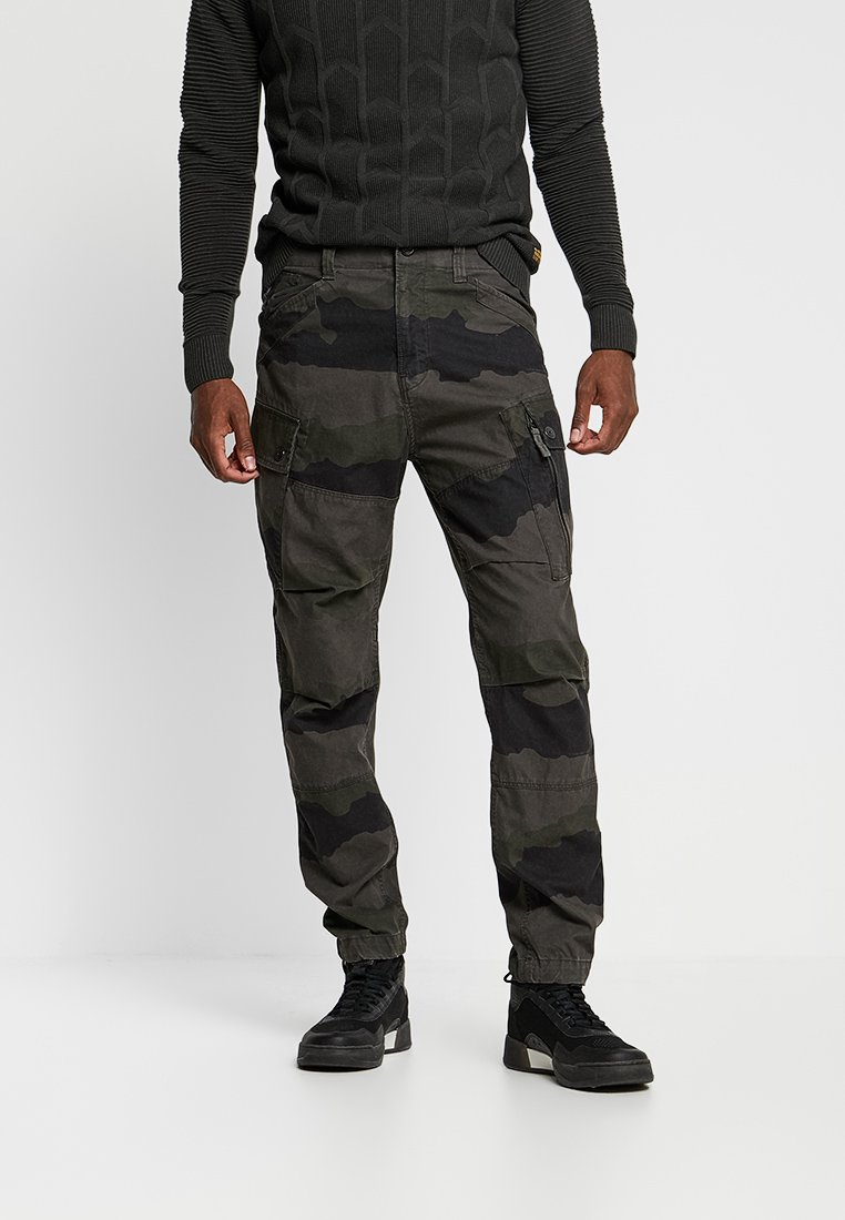 G-Star - ROXIC TAPERED CARGO - Cargobyxor - battle grey/asfalt