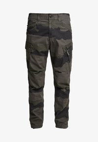 G-Star - ROXIC TAPERED CARGO - Cargobyxor - battle grey/asfalt - 4