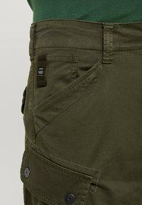 G-Star - ROXIC STRAIGHT TAPERED - Cargo trousers - dark bronze green - 4