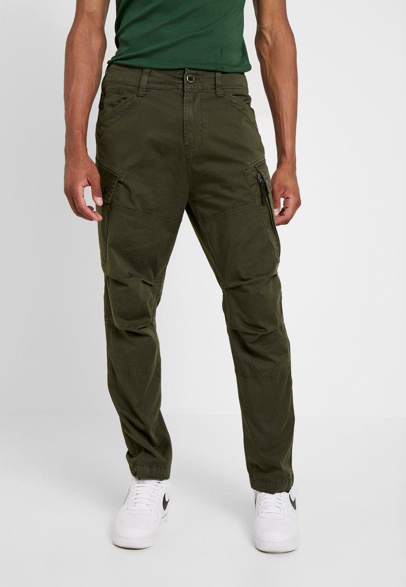 G-Star - ROXIC STRAIGHT TAPERED - Cargo trousers - dark bronze green