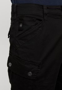 G-Star - ROXIC STRAIGHT TAPERED - Cargobroek - black - 4