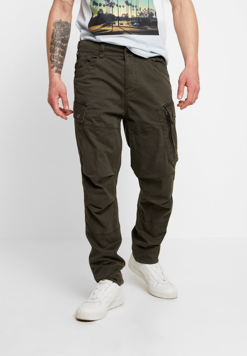 G-Star - ROXIC TAPERED FIT CARGO - Chino - asfalt