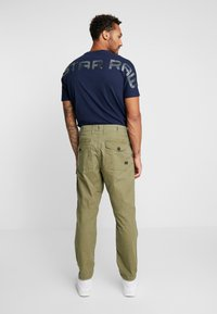 G-Star - TORRICK LOOSE FIT - Chino kalhoty - compact bitt canvas - sage - 2