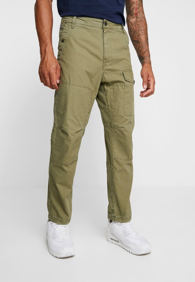 G-Star - TORRICK LOOSE FIT - Chino kalhoty - compact bitt canvas - sage
