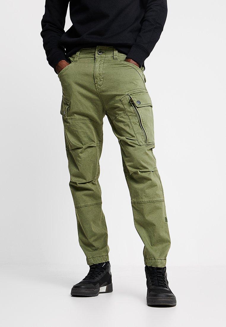 G-Star - ROXIC - Pantalones cargo - sage