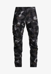 G-Star - ROVIX TAPARED - Cargo trousers - black/ grey/ anthracite - 4