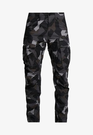 ROVIX TAPARED - Cargo trousers - black/ grey/ anthracite