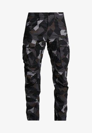 ROVIX TAPARED - Cargobroek - black/ grey/ anthracite