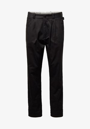 VARVE RELAXED - Chinos - black