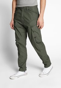 G-Star - DRONER RELAXED TAPERED CARGO PANT - Cargo trousers - wild rovic - 0