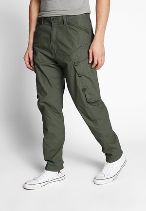 DRONER RELAXED TAPERED CARGO PANT - Cargo trousers - wild rovic