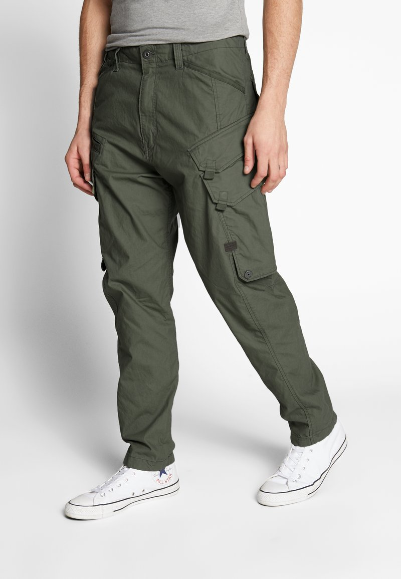 G-Star - DRONER RELAXED TAPERED CARGO PANT - Cargo trousers - wild rovic