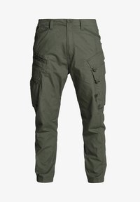 G-Star - DRONER RELAXED TAPERED CARGO PANT - Cargo trousers - wild rovic - 4